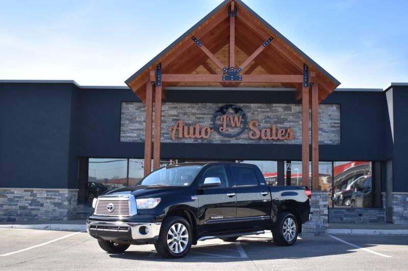 2012 Toyota Tundra for sale at JW Auto Sales LLC in Harrisonburg VA