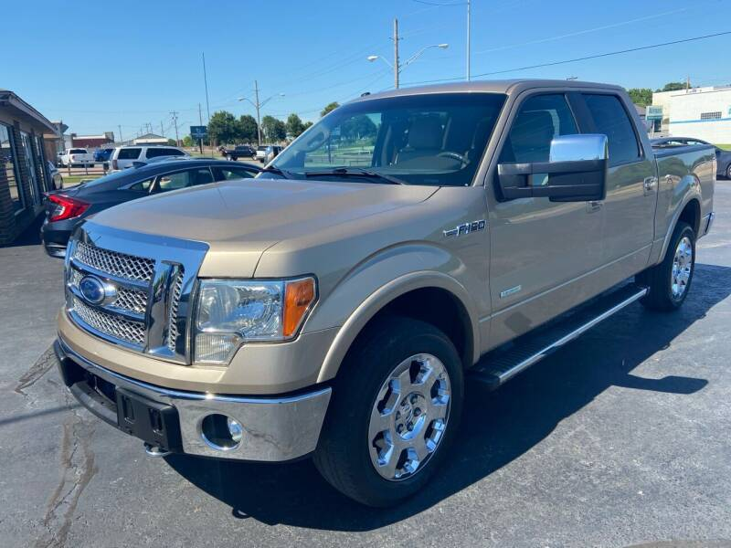 2012 Ford F-150 for sale at Kasterke Auto Mart Inc in Shawnee OK