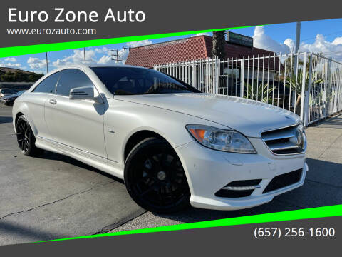2013 Mercedes-Benz CL-Class for sale at Euro Zone Auto in Stanton CA