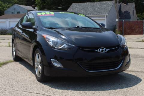 2013 Hyundai Elantra for sale at Square Business Automotive in Milwaukee WI