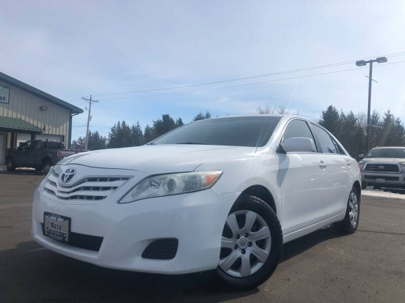 2010 Toyota Camry for sale at Lakes Area Auto Solutions in Baxter MN