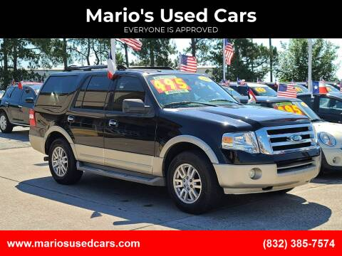 2009 Ford Expedition for sale at Mario's Used Cars in Houston TX