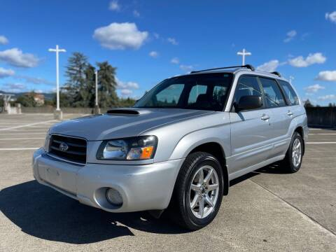 2004 Subaru Forester for sale at Rave Auto Sales in Corvallis OR