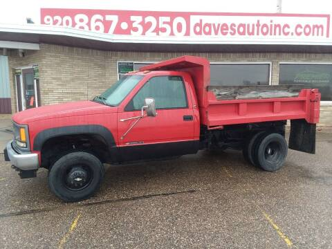 1997 Chevrolet C/K 3500 Series for sale at Dave's Auto Sales & Service in Weyauwega WI