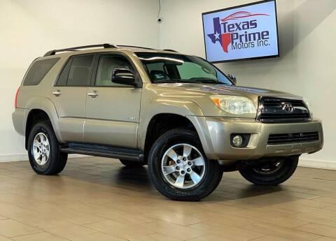2006 Toyota 4Runner for sale at Texas Prime Motors in Houston TX