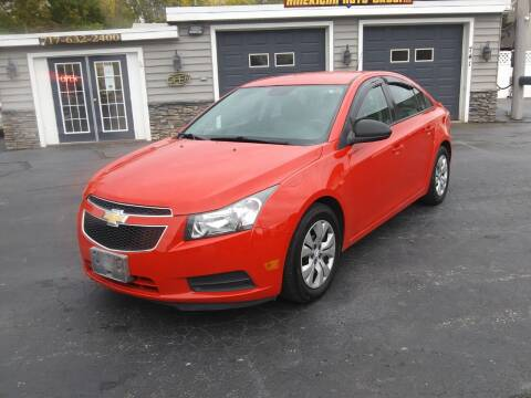 2014 Chevrolet Cruze for sale at American Auto Group, LLC in Hanover PA