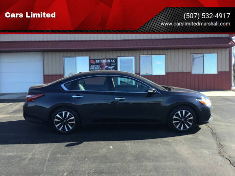 2018 Nissan Altima for sale at Cars Limited in Marshall MN