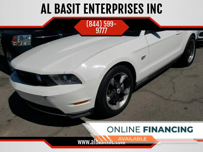 2010 Ford Mustang for sale at AL BASIT ENTERPRISES INC in Riverside CA