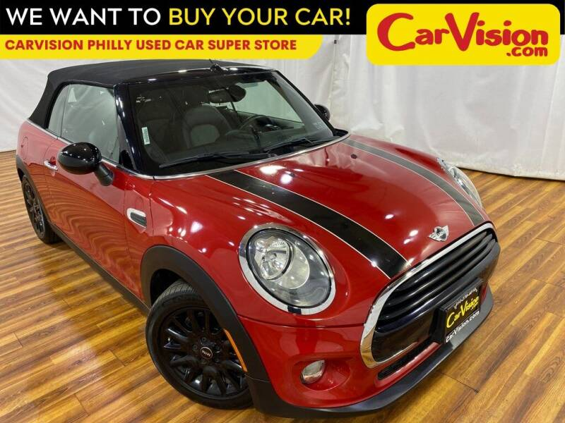 2017 MINI Convertible for sale at Car Vision Mitsubishi Norristown - Car Vision Philly Used Car SuperStore in Philadelphia PA