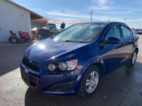 2012 Chevrolet Sonic for sale at Family Car Farm in Princeton IN