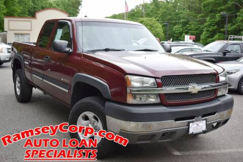 2003 Chevrolet Silverado 2500HD for sale at Ramsey Corp. in West Milford NJ
