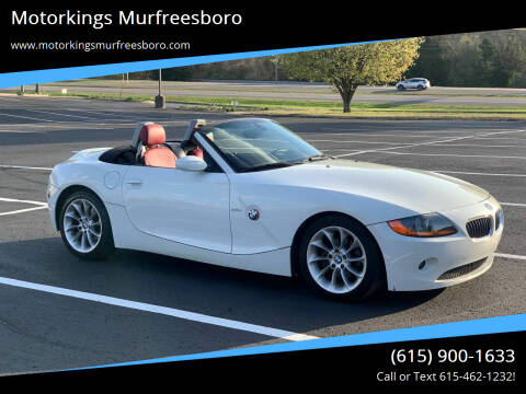 2004 BMW Z4 for sale at Motorkings Murfreesboro in Murfreesboro TN