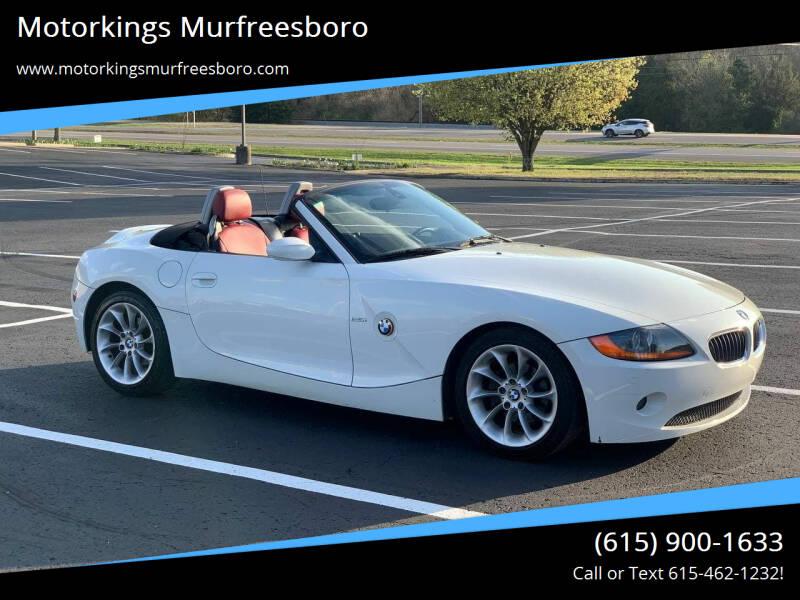 2004 BMW Z4 for sale at Motorkings Murfreesboro in Murfreesboro TN