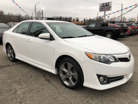 2013 Toyota Camry for sale at SKY AUTO SALES in Detroit MI