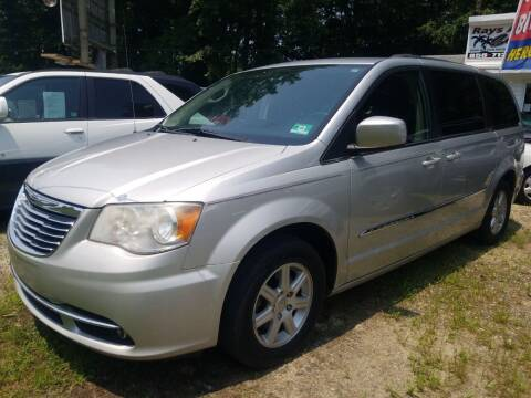 2012 Chrysler Town and Country for sale at Ray's Auto Sales in Elmer NJ