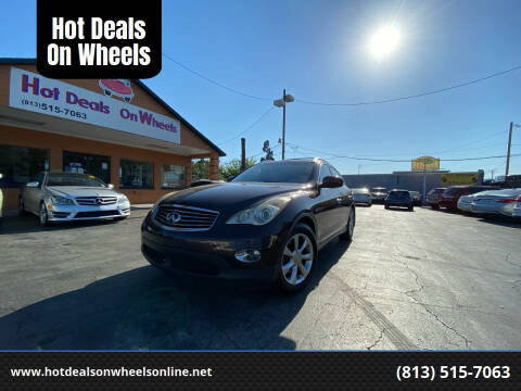 2008 Infiniti EX35 for sale at Hot Deals On Wheels in Tampa FL
