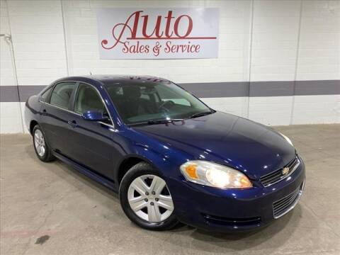 2011 Chevrolet Impala for sale at Auto Sales & Service Wholesale in Indianapolis IN