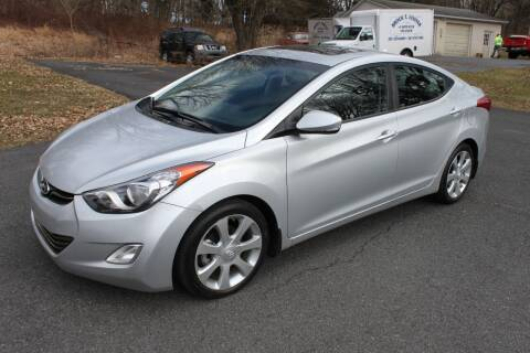 2013 Hyundai Elantra for sale at Mayer Motors of Pennsburg - Green Lane in Green Lane PA