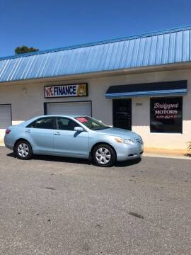 2007 Toyota Camry for sale at BRIDGEPORT MOTORS in Morganton NC