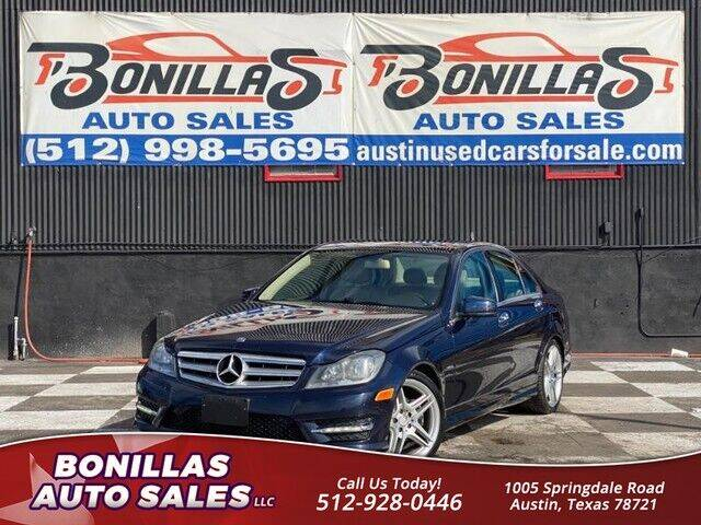 2012 Mercedes-Benz C-Class for sale at Bonillas Auto Sales in Austin TX