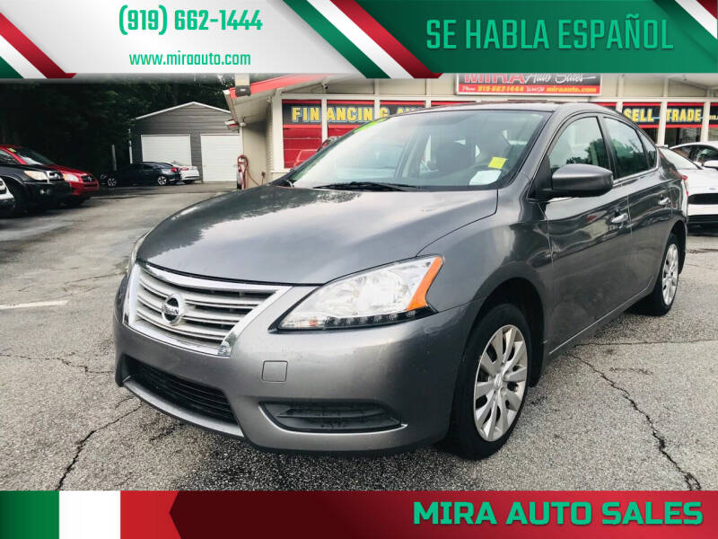 2015 Nissan Sentra for sale at Mira Auto Sales in Raleigh NC