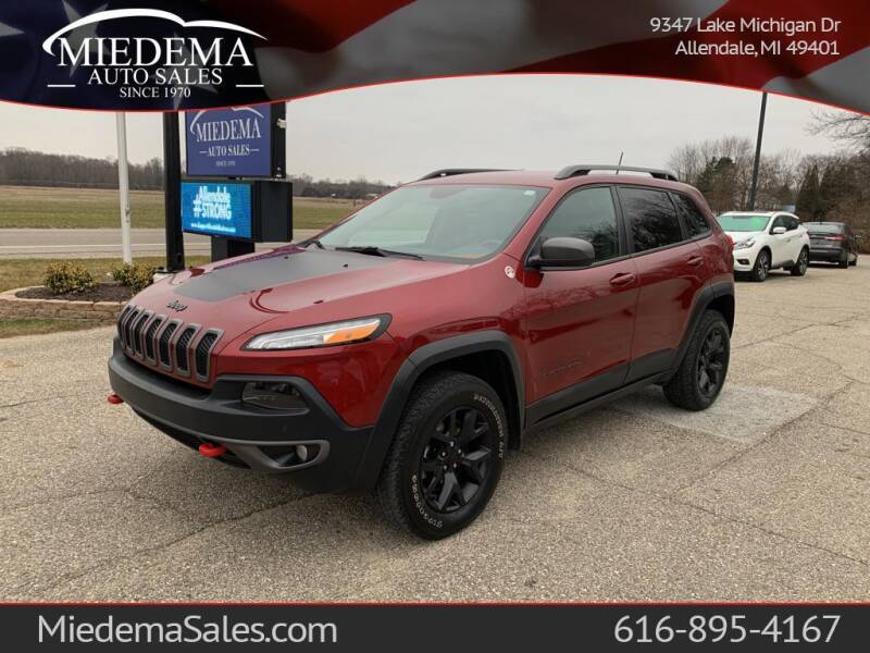2015 Jeep Cherokee for sale at Miedema Auto Sales in Allendale MI