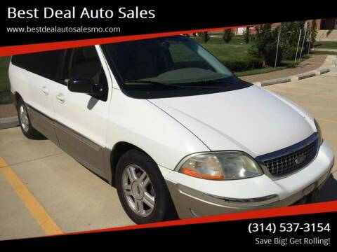 2002 Ford Windstar for sale at Best Deal Auto Sales in Saint Charles MO