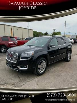 2014 GMC Acadia for sale at Sapaugh Classic Joyride in Salem MO