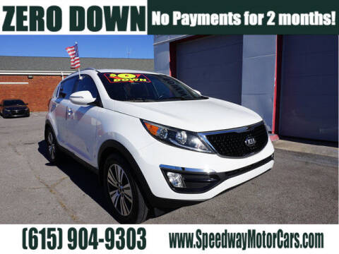 2014 Kia Sportage for sale at Speedway Motors in Murfreesboro TN