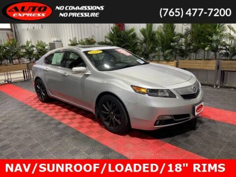 2012 Acura TL for sale at Auto Express in Lafayette IN