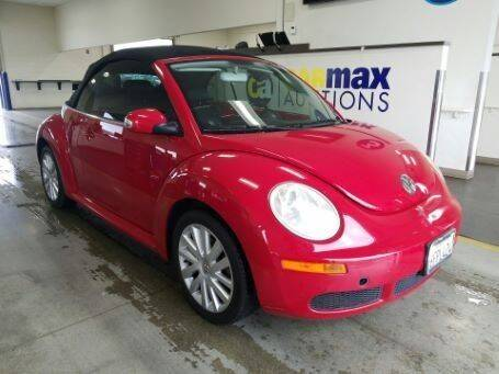 2008 Volkswagen New Beetle for sale at Trini-D Auto Sales Center in San Diego CA