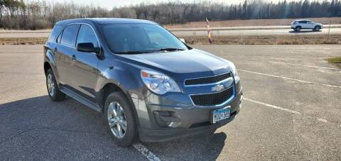 2011 Chevrolet Equinox for sale at Transmart Autos in Zimmerman MN