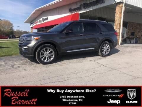 2020 Ford Explorer for sale at Russell Barnett Chrysler Dodge Jeep Ram in Winchester TN
