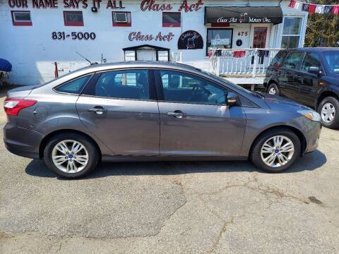2012 Ford Focus for sale at Class Act Motors Inc in Providence RI