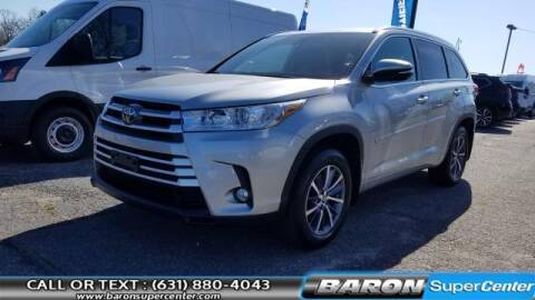 2018 Toyota Highlander for sale at Baron Super Center in Patchogue NY