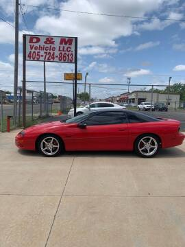 1998 Chevrolet Camaro for sale at D & M Vehicle LLC in Oklahoma City OK