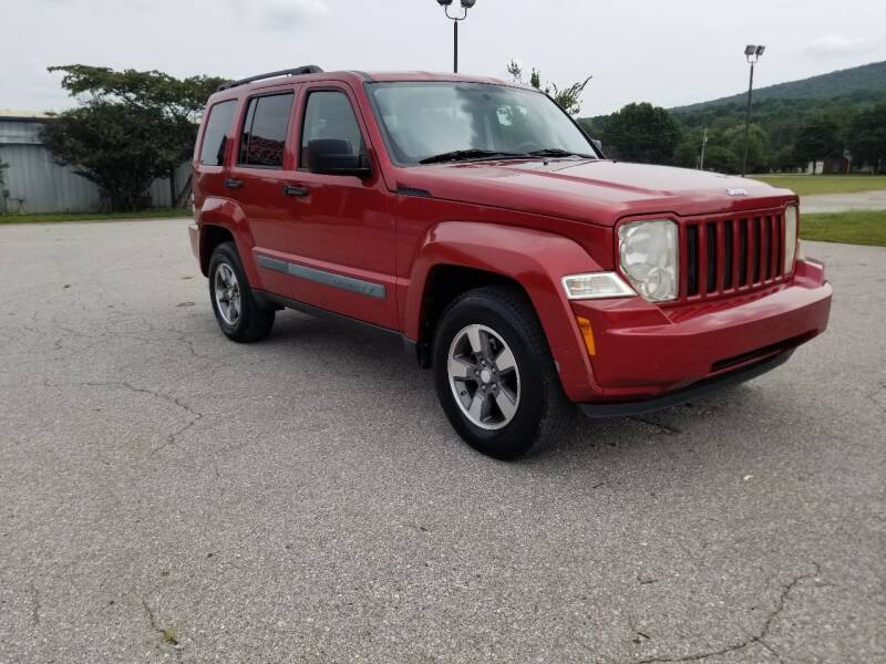 2008 Jeep Liberty for sale at Tennessee Valley Wholesale Autos LLC in Huntsville AL