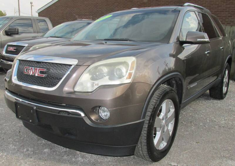 2007 GMC Acadia for sale at Express Auto Sales in Lexington KY