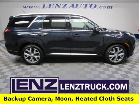 2021 Hyundai Palisade for sale at LENZ TRUCK CENTER in Fond Du Lac WI
