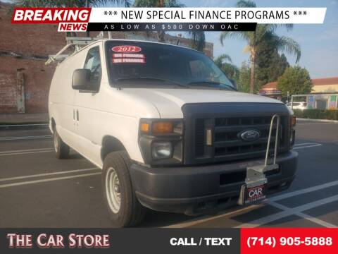 2012 Ford E-Series Cargo for sale at The Car Store in Santa Ana CA