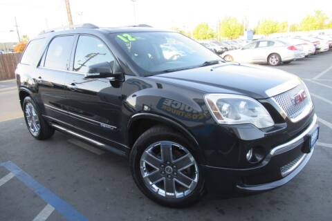 2012 GMC Acadia for sale at Choice Auto & Truck in Sacramento CA