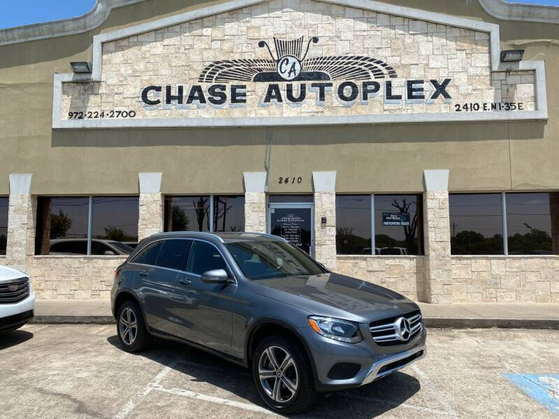 2018 Mercedes-Benz GLC for sale at CHASE AUTOPLEX in Lancaster TX