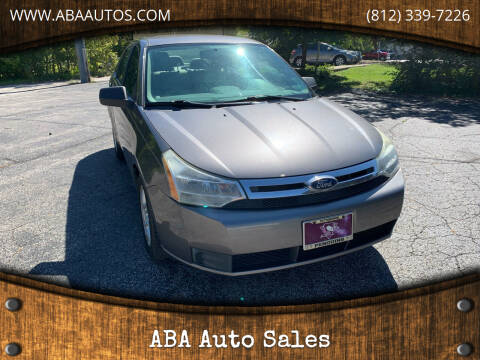 2011 Ford Focus for sale at ABA Auto Sales in Bloomington IN