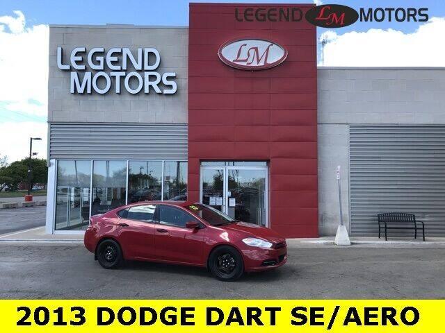 2013 Dodge Dart for sale at Legend Motors of Detroit - Legend Motors of Ferndale in Ferndale MI