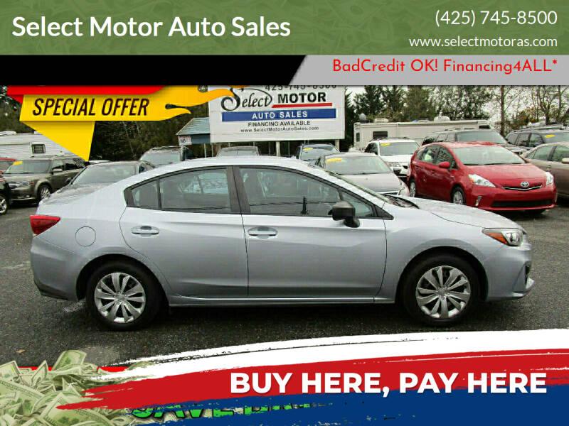 2018 Subaru Impreza for sale at Select Motor Auto Sales in Lynnwood WA