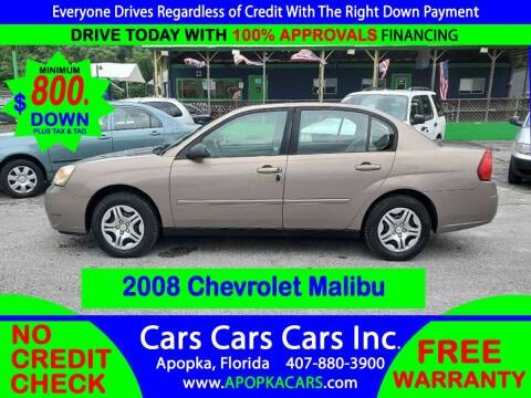2008 Chevrolet Malibu Classic for sale at CARS CARS CARS INC in Apopka FL