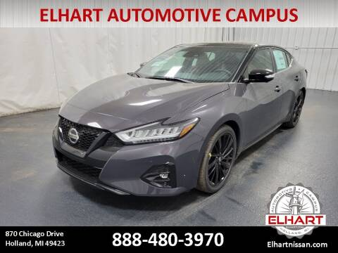 2021 Nissan Maxima for sale at Elhart Automotive Campus in Holland MI