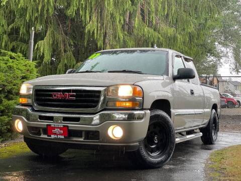 2007 GMC Sierra 1500 Classic for sale at Real Deal Cars in Everett WA