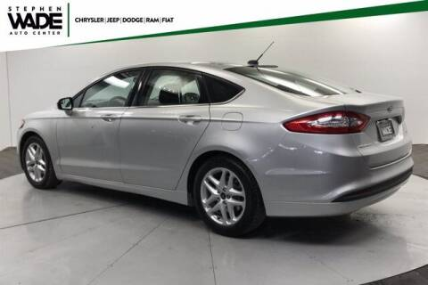 2016 Ford Fusion for sale at Stephen Wade Pre-Owned Supercenter in Saint George UT