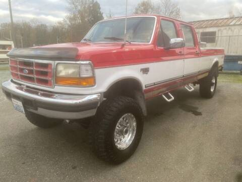 1996 Ford F-350 for sale at MILLENNIUM MOTORS INC in Monroe WA